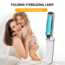 Load image into Gallery viewer, Mini UV mobile disinfection lamp