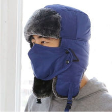 Load image into Gallery viewer, Winter Lei Feng Hat Winter Mask Outdoor Thicken Ski Hat