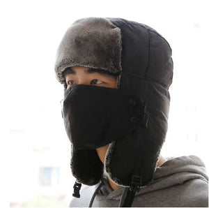 Winter Lei Feng Hat Winter Mask Outdoor Thicken Ski Hat