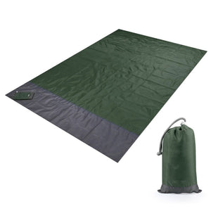 Portable Waterproof Picnic Mat Beach Mat Pocket Blanket