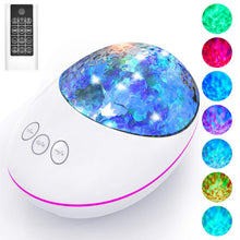 Load image into Gallery viewer, LED Night Light Starry Sky Projector Colorful Star Moon Night Lights