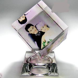 Personalized Crystal Photo Magic Cube
