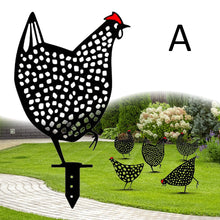 Load image into Gallery viewer, Chicken Yard Art Outdoor Garden Backyard Gazon Stakes Hen Yard Decor