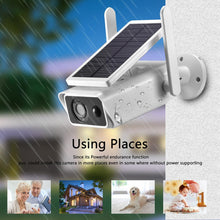 Load image into Gallery viewer, Solar Camera 1080P Waterproof Rainproof
