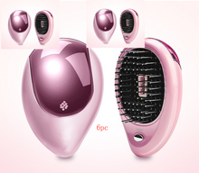 Load image into Gallery viewer, Electric Sound Wave Vibration Magnetic Massage Comb Portable Negative Ion Hair Comb