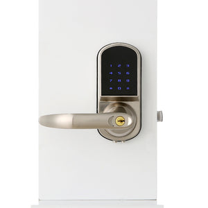 Smart blue-tooth single tongue password mechanical key lock - shop416.com