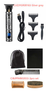 T9 electric hair clipper hair cutter rechargeable professional easy