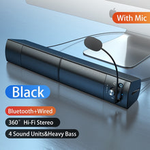 Load image into Gallery viewer, Small Speaker Subwoofer USB with Microphone Bluetooth Wired Universal