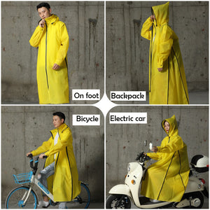 Electric car raincoat