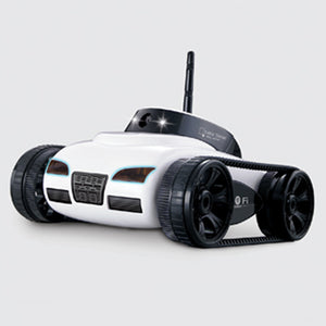 Mini camera remote control electric tank car