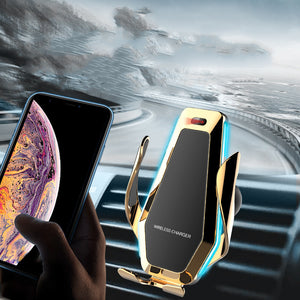 Car phone holder automatic bracket