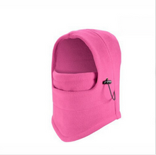 Load image into Gallery viewer, Hat, winter outdoor fleece hat line protector face warm face hat winter riding windproof cap