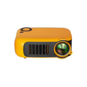 Mini Portable Projector 800 Lumens Eye-Care 1080p LCD 50,000 Hours Lamp Life Home Cinema Video Projector