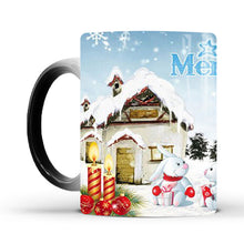 Load image into Gallery viewer, Merry Christmas Magic Mug Temperature Color Changing Mugs Heat Sensitive Cup Coffee Tea Milk Mug Novelty Gifts for Kids