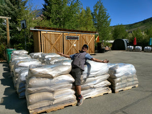 36,000 POUNDS of Coffee Beans Arrive in CB South!