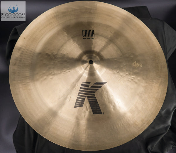 "19"" K Zildjian China"