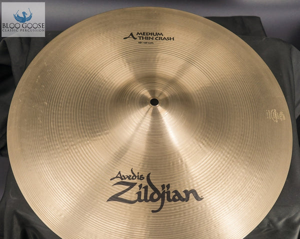 "18"" Avedis Zildjian Medium Thin Crash"