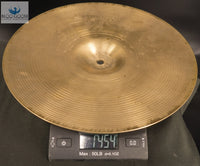 "Vintage 1970s Hollow Logo Avedis Zidjian 14"" New Beat Hi Hat Set"