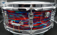 *SOLD* *GRAIL* VINTAGE 1969 PSYCHEDELIC RED JAZZ FESTIVAL SNARE DRUM