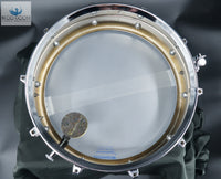 *RARE GRAIL* Vintage 1970 CUT BADGE Ludwig LM400 Supraphonic  Snare Drum