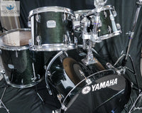 Yamaha Stage Custom (Raven Black) - 5 Piece Shell Pack w/ Hardware