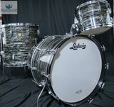 *SOLD* *BEAUTIFUL* MATCHING ORIGINAL 1967 SUPER CLASSIC KIT IN OYSTER BLACK PEARL