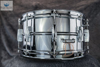 *SOLD* - Vintage 1960-63 Ludwig LM402 Chrome Over Brass Supraphonic - 6.5""