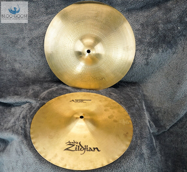 *SOLD* Avedis Zidjian A Mastersound Hi Hat Pair - 13""