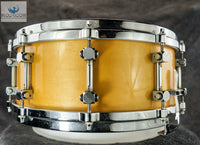 GMS Natural Maple Lacquer 5x14 Snare Drum