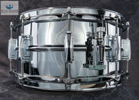 "*SOLD* *GORGEOUS* Vintage 1977 Ludwig Supraphonic 6.5"" LM402 Snare Drum"