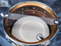 *LIKE NEW* Vintage Late 1980s Ludwig Monroe Badge LB552 6.5x14 P-85 Strainer