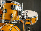 *EXCELLENT* - Legend Honey Amber Maple Lacquer Keller Drum Set From 1996