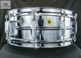 *SOLD* Vintage Ludwig Supraphonic - Chrome Over Brass! Ludwig Case, Stand, Book, Sticks