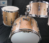 *SOLD* Vintage 1967 Ludwig Club Date Drum Set - Champagne Sparkle