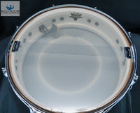 *SOLD* VINTAGE 1967 LUDWIG DOWNBEAT 4x14 SNARE DRUM IN CHAMPAGNE SPARKLE
