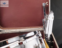 *SOLD* Gorgeous Gretsch 4108 1970s Snare Drum w/Case & Stand