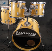 *SWEET* VINTAGE 1989 LUDWIG THERMOGLOSS MAPLE LACQUER SUPER CLASSIC