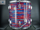 *SOLD* *RARE* MATCHING ORIGINAL 1967 ORIGINAL HOLLYWOOD KIT IN PSYCH RED