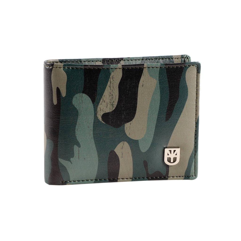 MUET Multicolor Go Camo or go Home Wallet Leather Mute