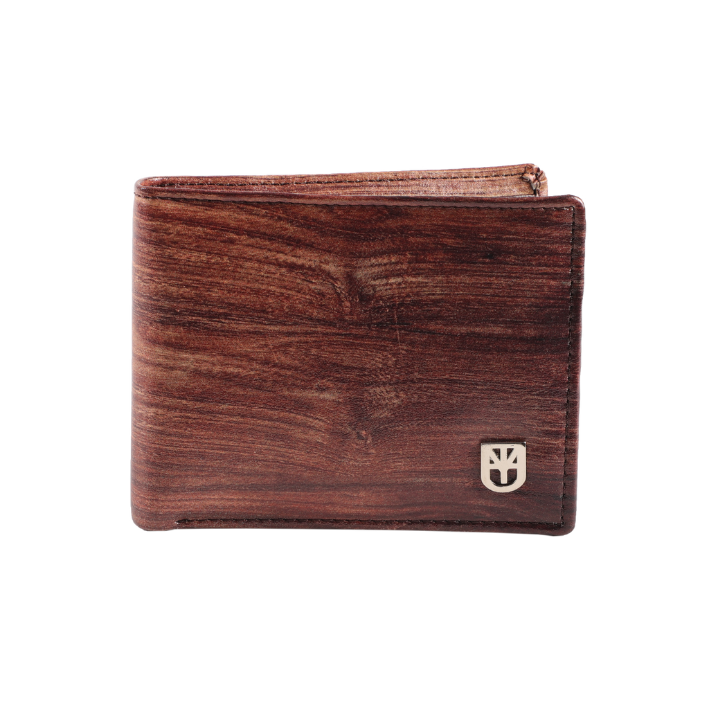 MUET Brown Woody Vintage Affair Leather Wallet for Men