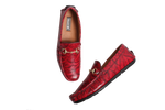 Muet Maroon Mania Leather Shoes