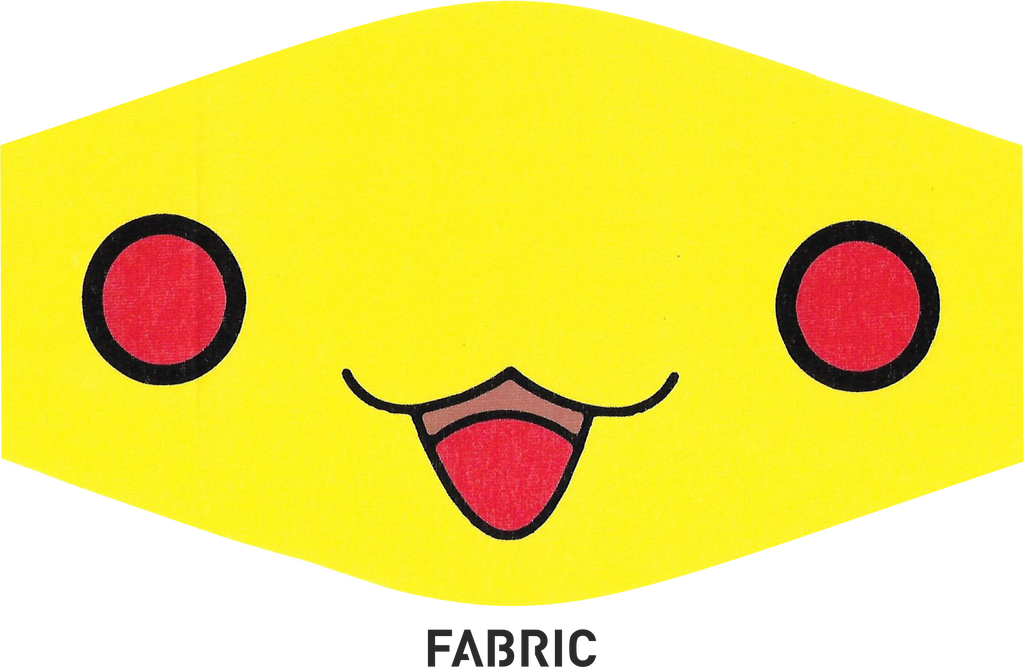 Fashionable Multipurpose Mask - Pikachu