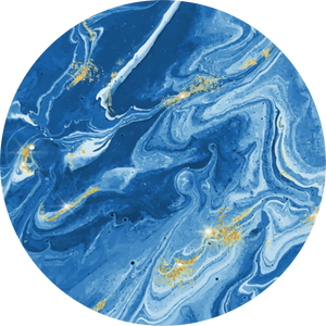 Magnetic Coasters - Blue Marble