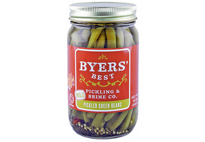 Mild Pickled Green Beans