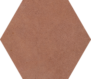 Siena Clay Hexagon