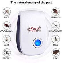 Load image into Gallery viewer, Ultra-Sonic Mosquito, Rat, And Pest Repellent