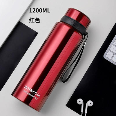 Thermos Inox 1200 ML rouge  | oko oko
