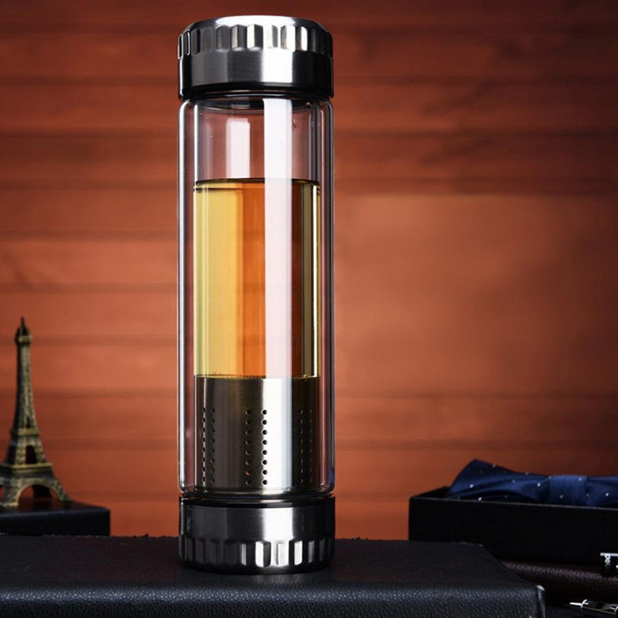 Thermos<br>Avec infuseur.