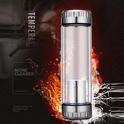 Thermos avec infuseur resiste aux chocs thermiques | oko oko