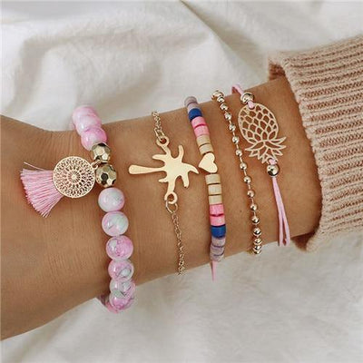 Ensemble Boho - Bracelet animal assortis  | OkO-OkO